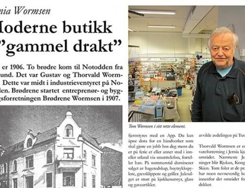 Jernia Wormsen – Moderne butikk i gammel drakt