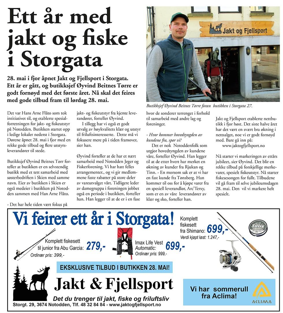 Jakt og Fjellsport mai 2016