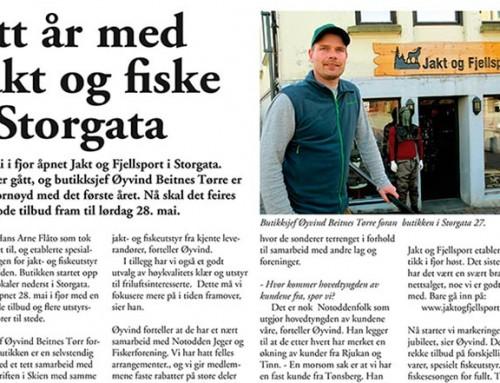 Ett år med jakt og fiske i Storgata