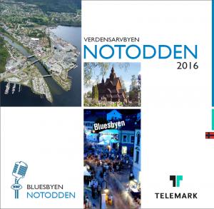 Turistbrosjyre Notodden norsk