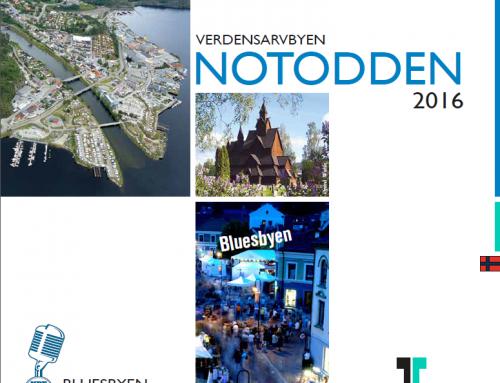 Verdensarvbyen Notodden – turistbrosjyre