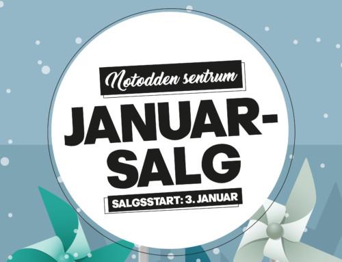 SALGET STARTER 3. JANUAR