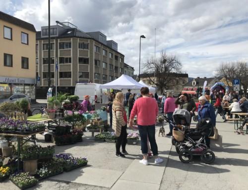 27. april: Vårmarked på torget